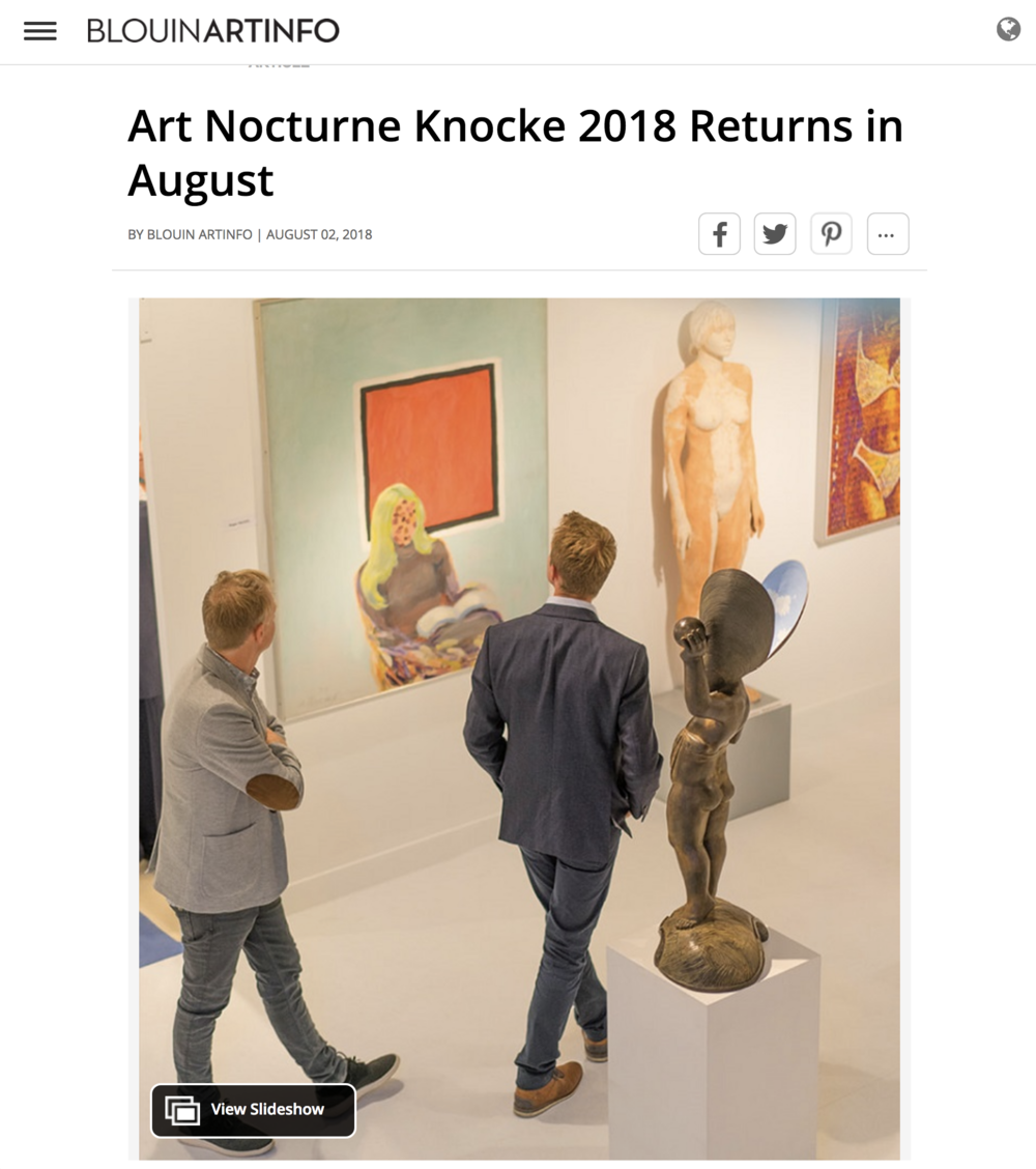 Art Nocturne Knocke 2018 Returns in August
