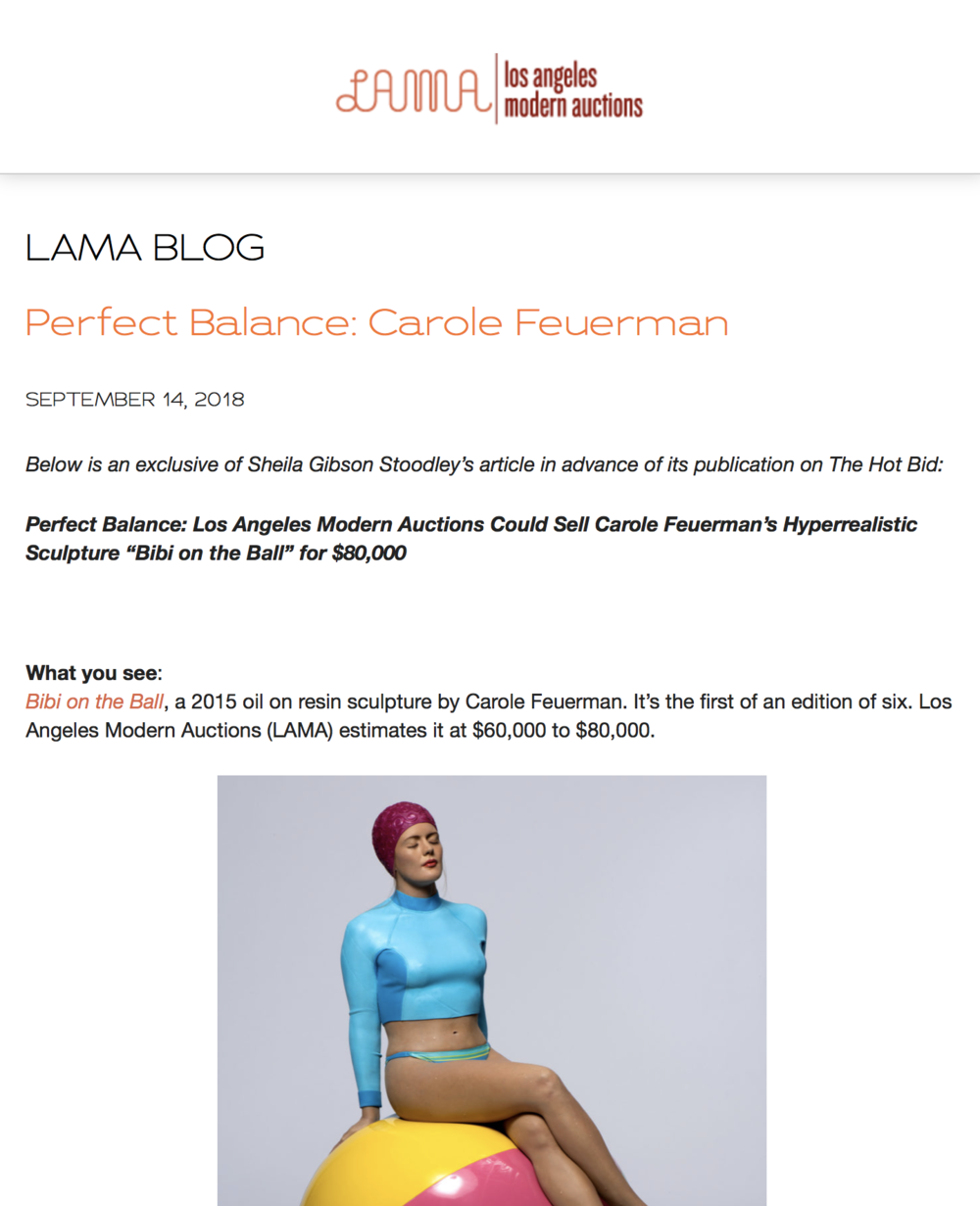 Perfect Balance: Carole Feuerman