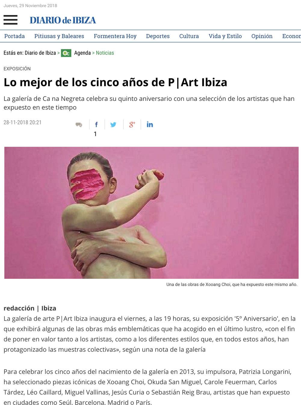 Lo mejor de los cinco años de P|Art Ibiza