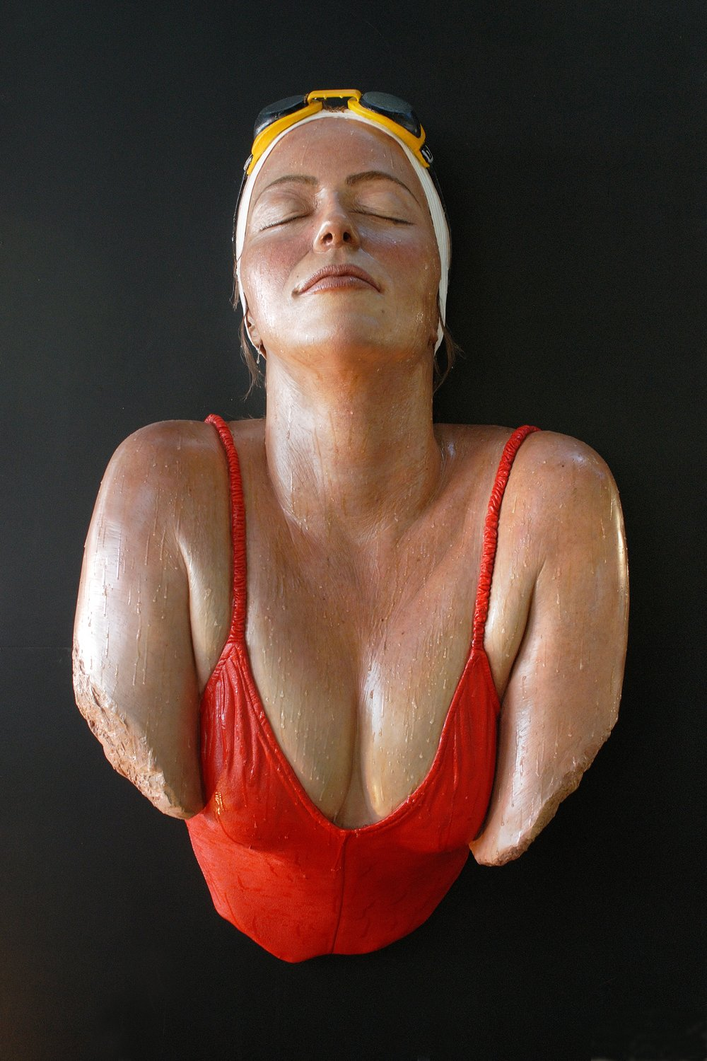 "Grande Catalina, 2005, Venissa Burano, Italy, Patinated Resin, 2005, 62"" x 38"" x 17"""