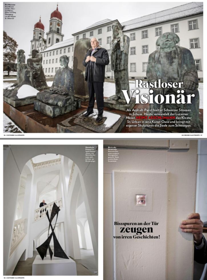 Restless Visionary - Report in the Schweizer Illustrierte