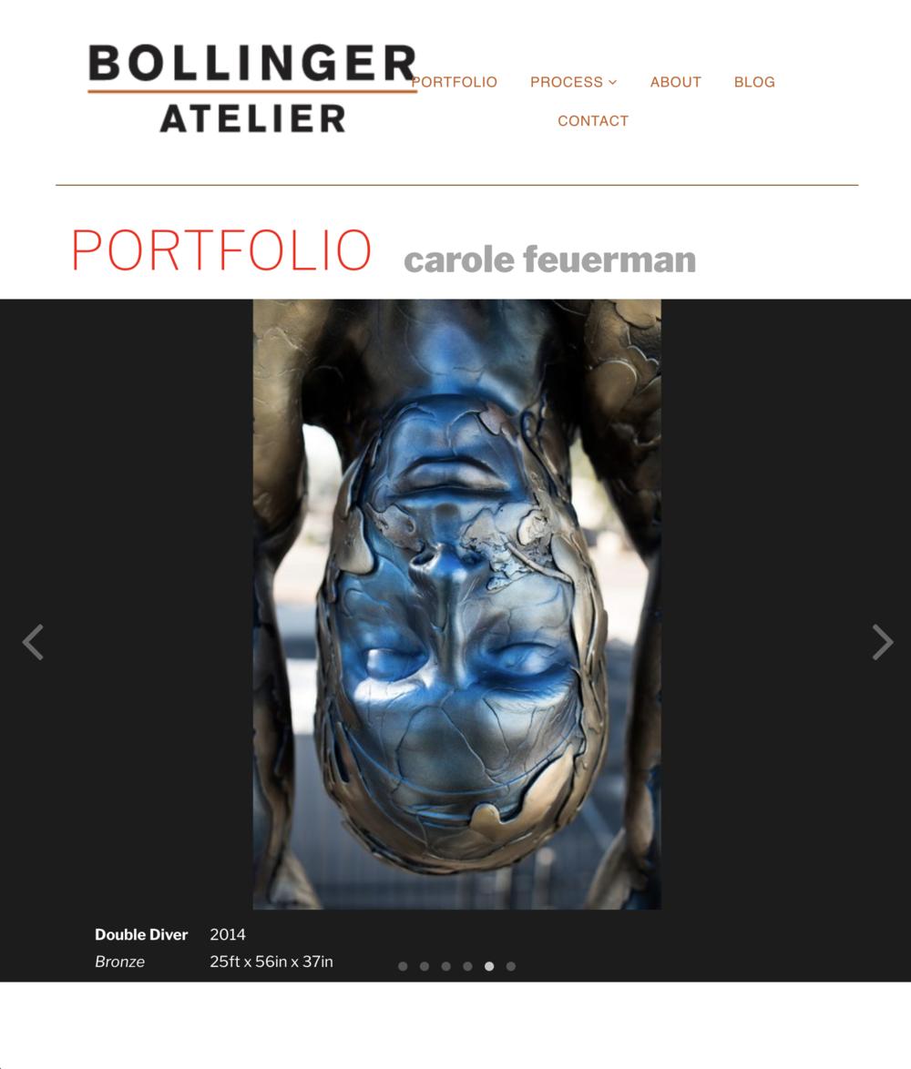 Bollinger Atelier - Carole Feuerman