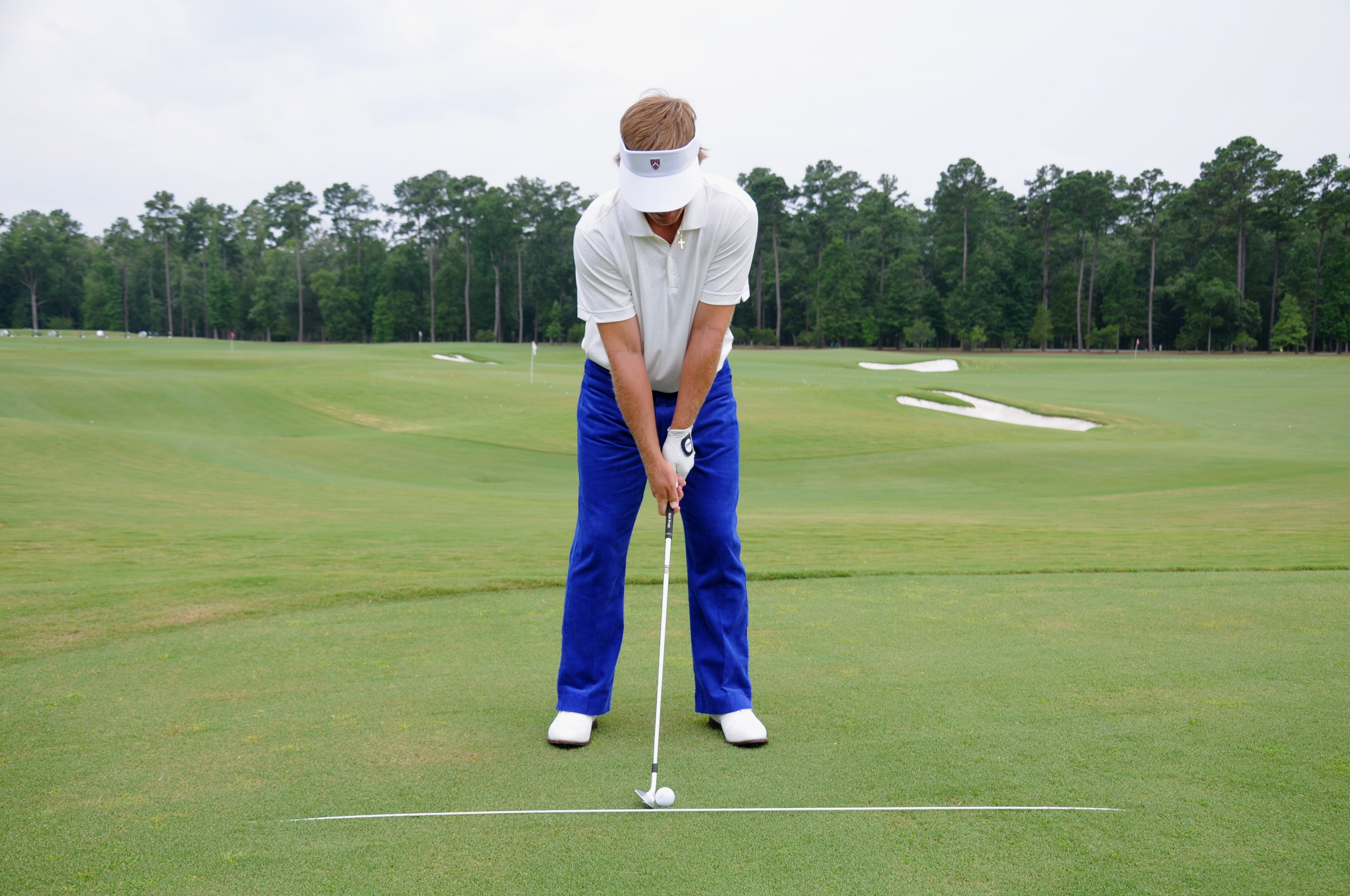 Ball Position with a Short Iron