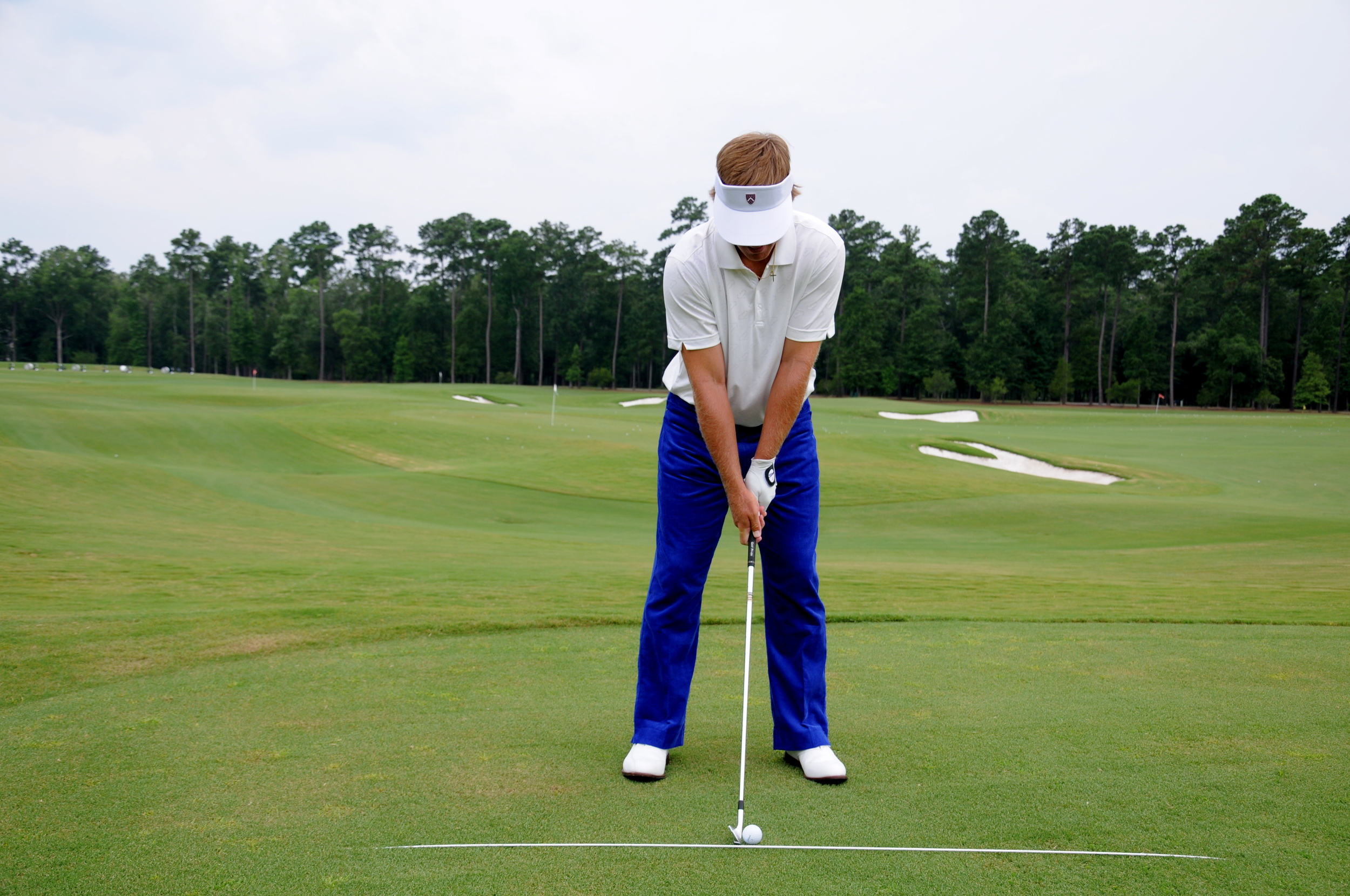 Ball Position with a Middle Iron