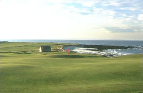 Balcomie Links at Crail
