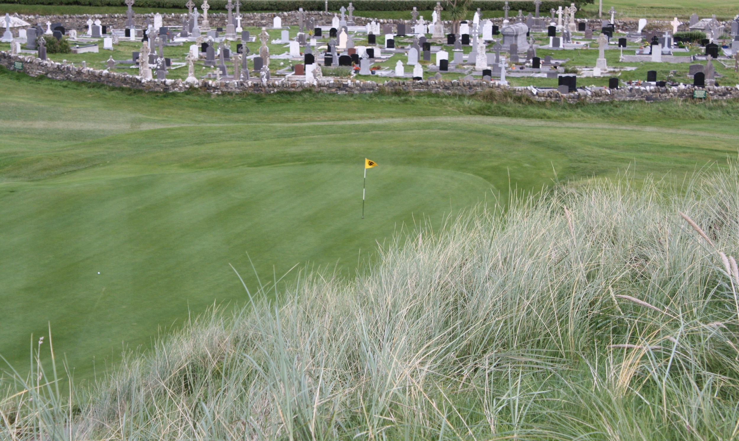 Ballybunion and the Infamous Graveyard