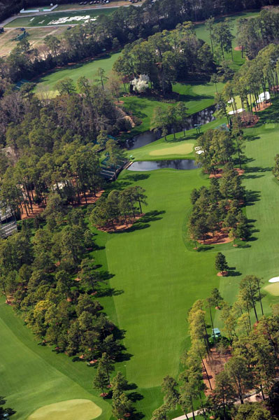 Augusta 15th Hole Aerial (Sports Illustrated)
