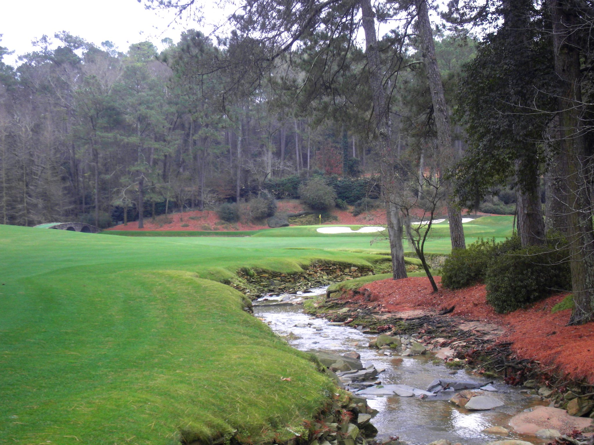 Augusta National in Winter