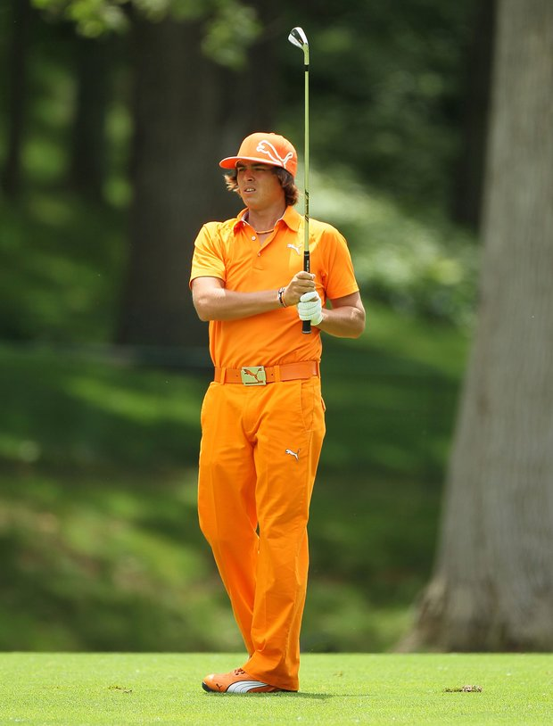 Rickie Fowler at the Memorial (Getty)