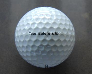 titleist tour balata