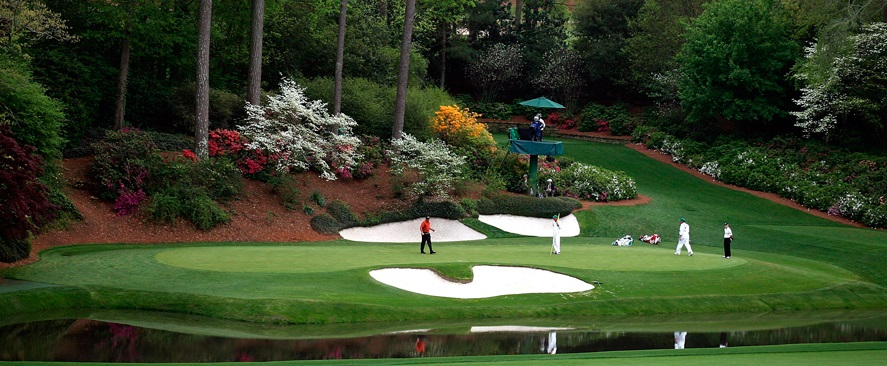 The 12th at Augusta National