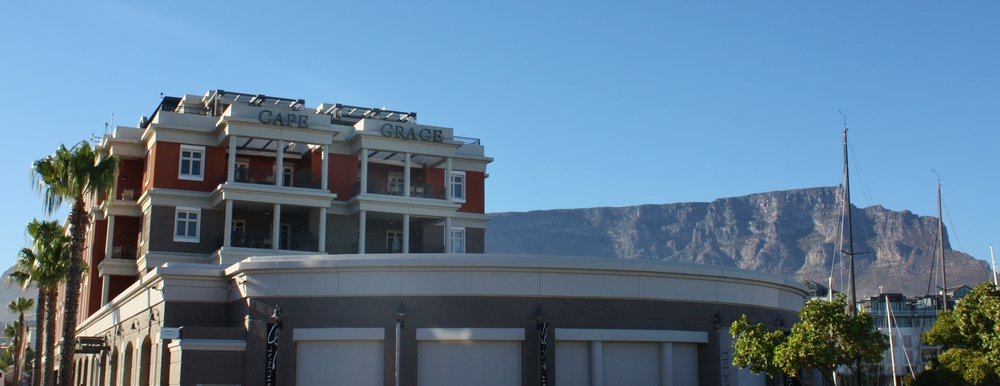 The Cape Grace and Table Mountain