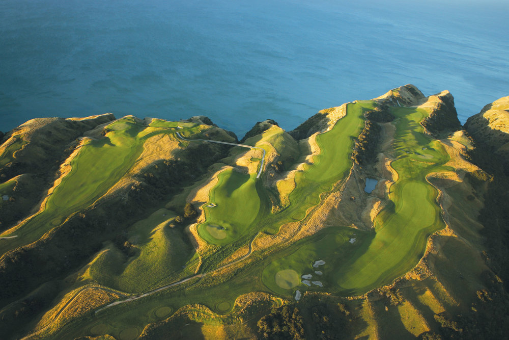 The back nine at Cape Kidnappers