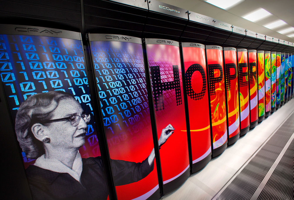 Those are NOT coke machines, it is a modern super computer.