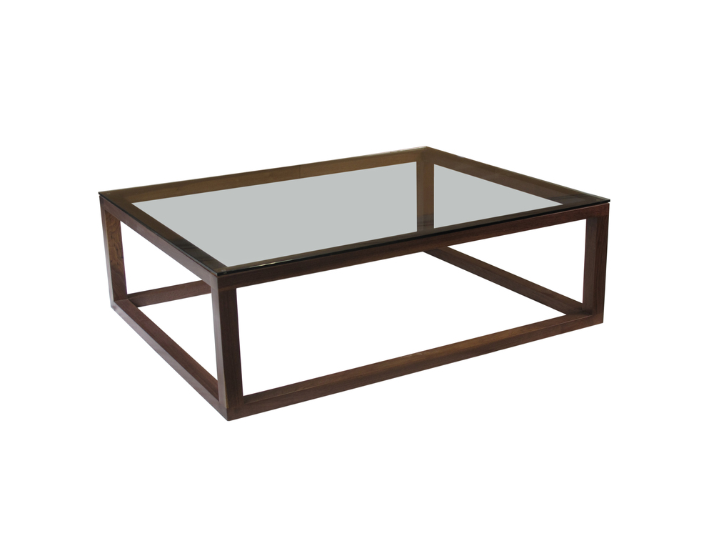 CLARK ll Coffee Table w/Glass