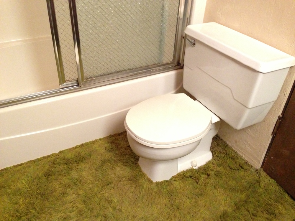Ugly Bathroom How To Update Your Bathroom On A Budget RTA Cabinet - How to update your bathroom on a budget
