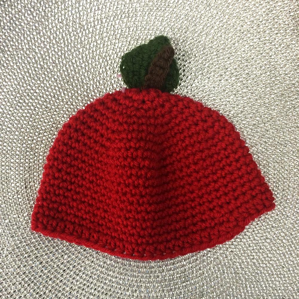 Knit Apple Hats