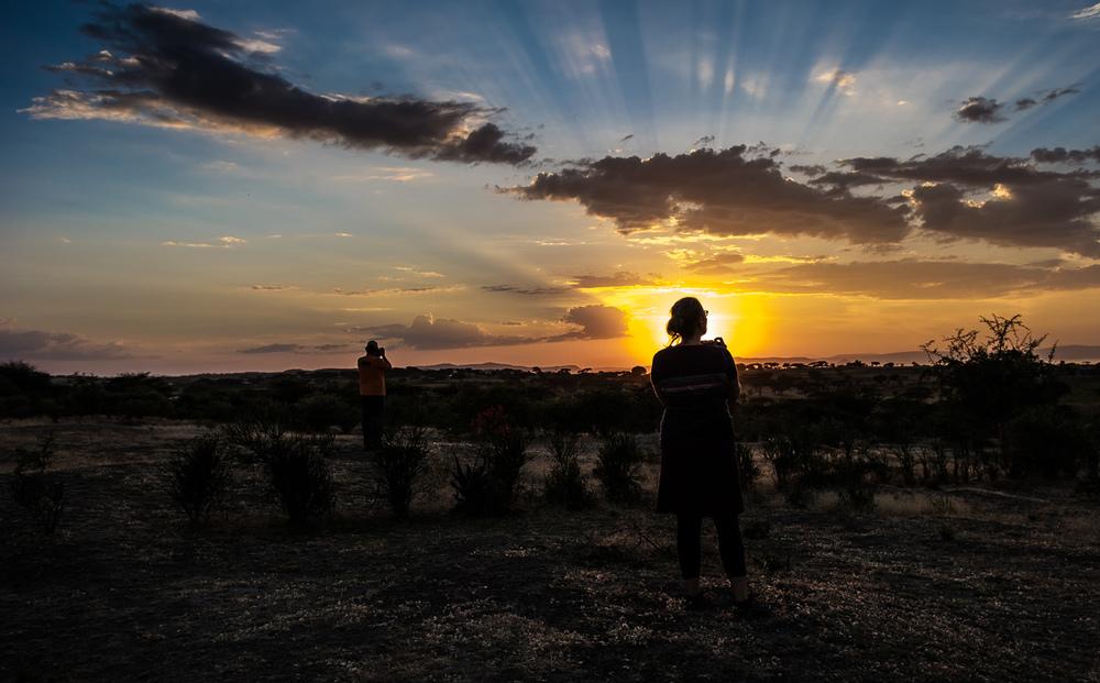 Travel, Ethiopian Sunset