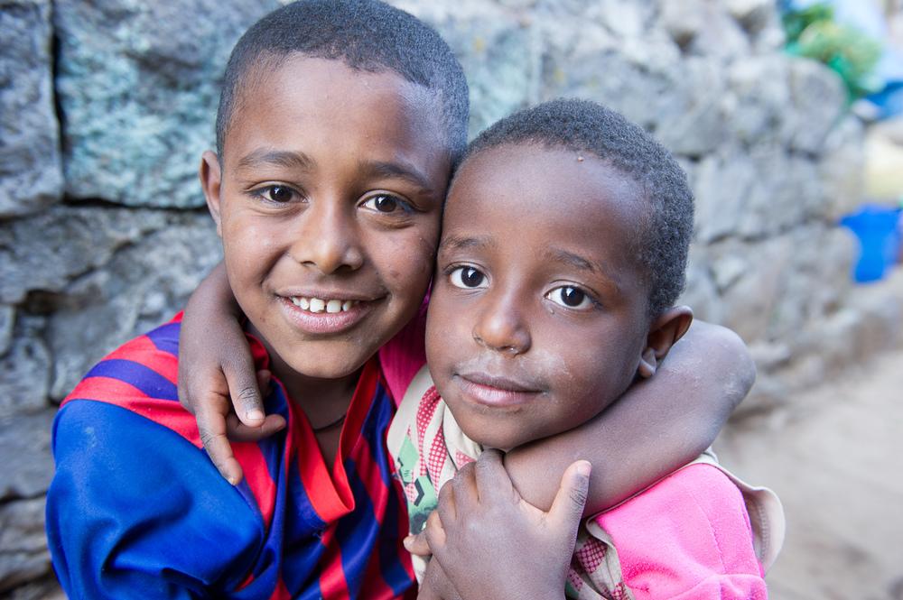 Happy kids, Ethiopia