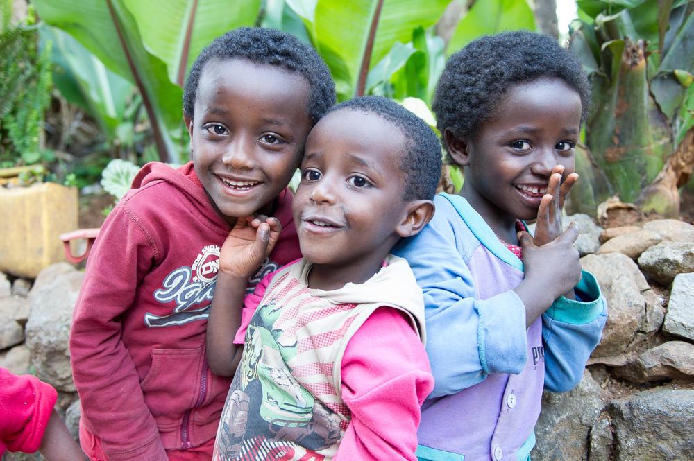 Big smiles all around, Ethiopia