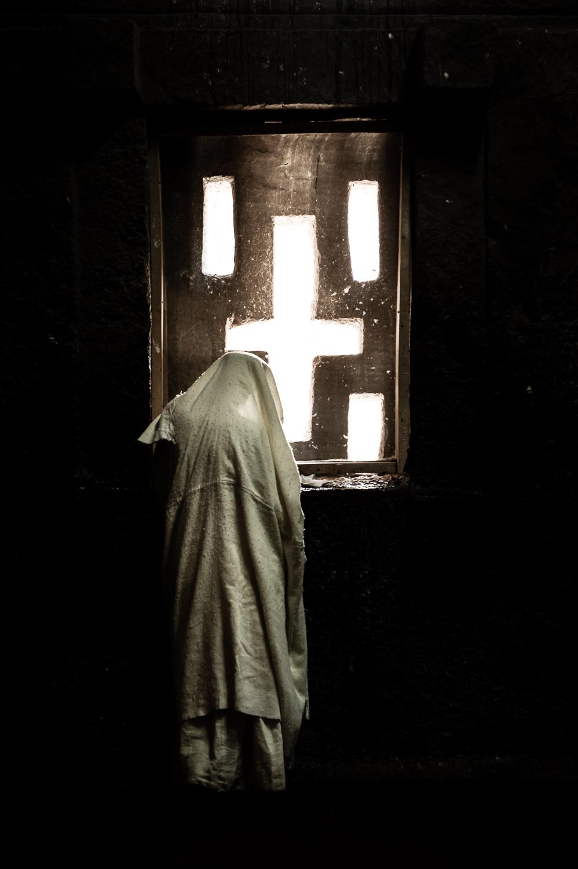 Worshipper, Lalibela Ethiopia