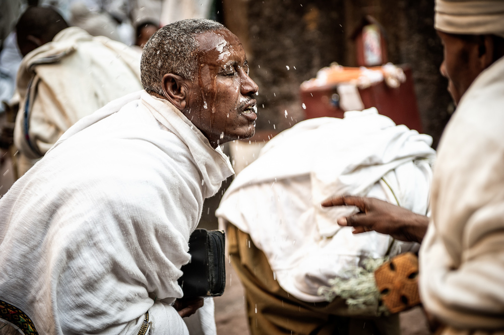 Worshipper in Lalibela, Ethiopia