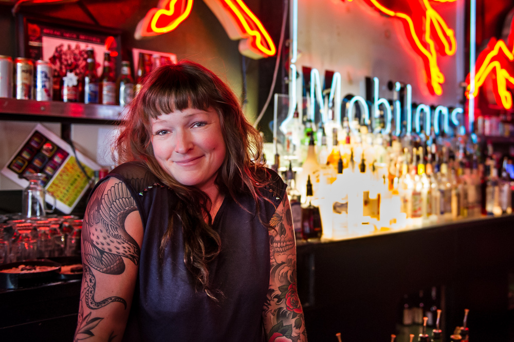 Bartender Kelly's Olympian, Portland, Oregon