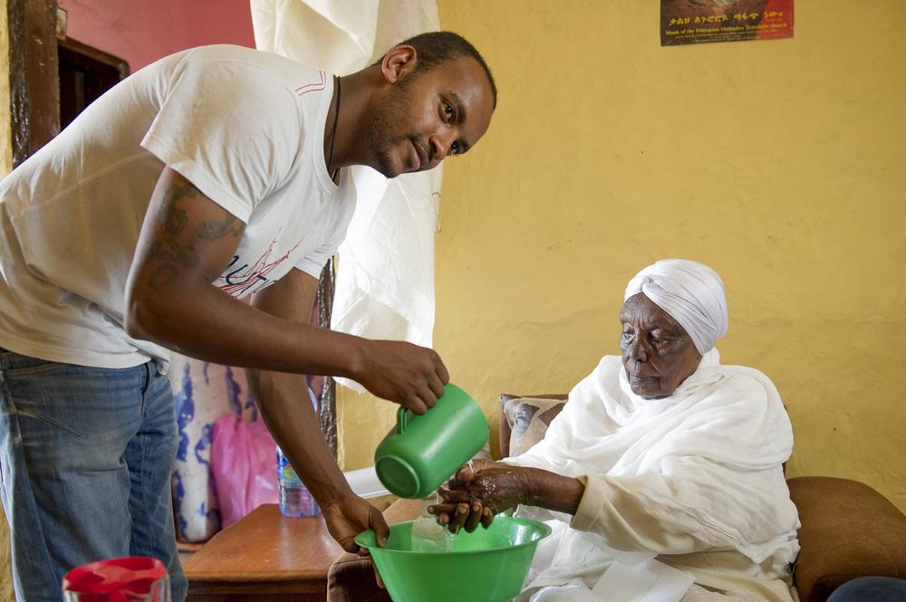 Hand washing, Ethiopia