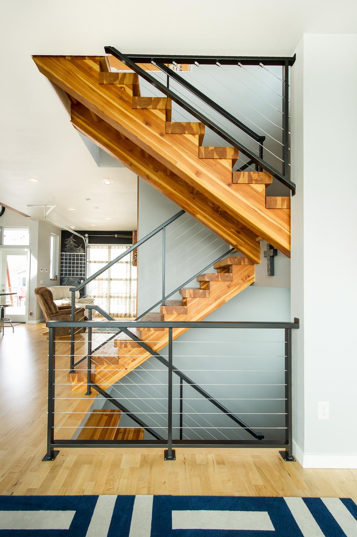 Stairway, Interior Architecture Portland