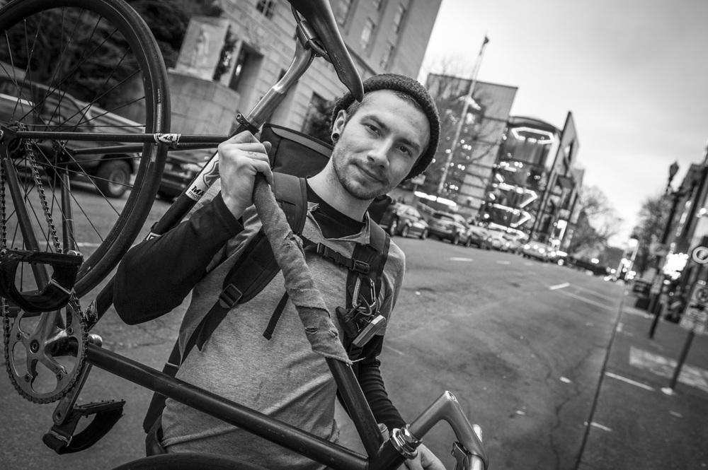 Portland biker