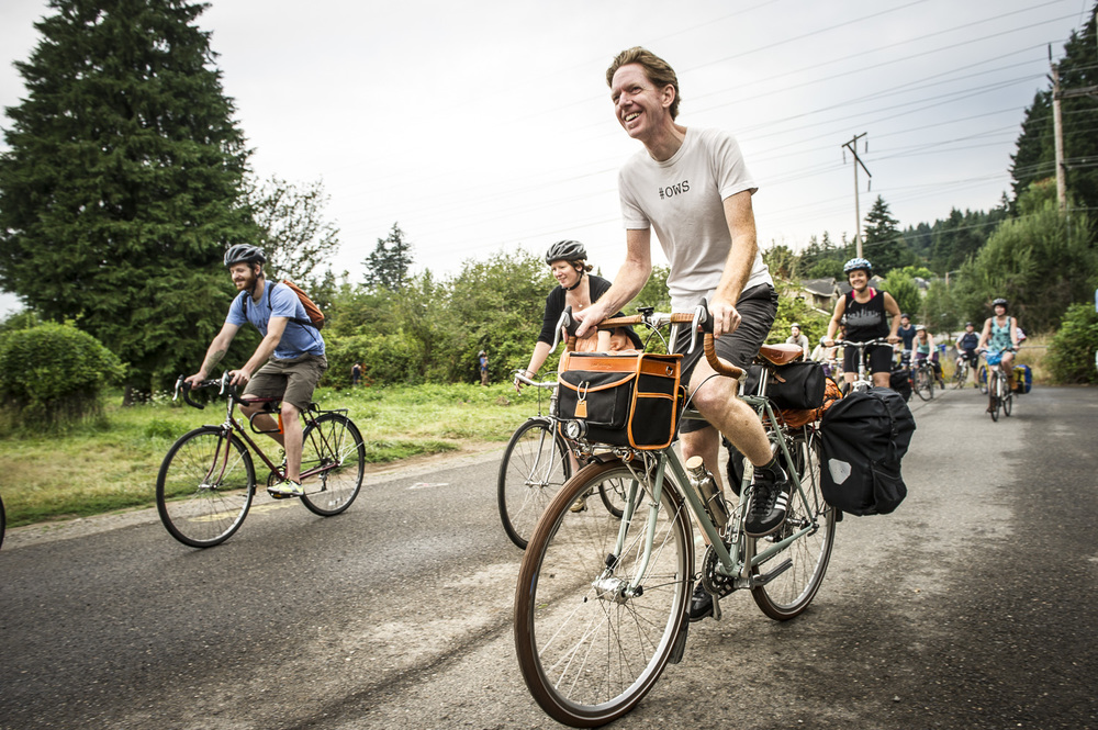 Bike Ride to Pickathon 2014