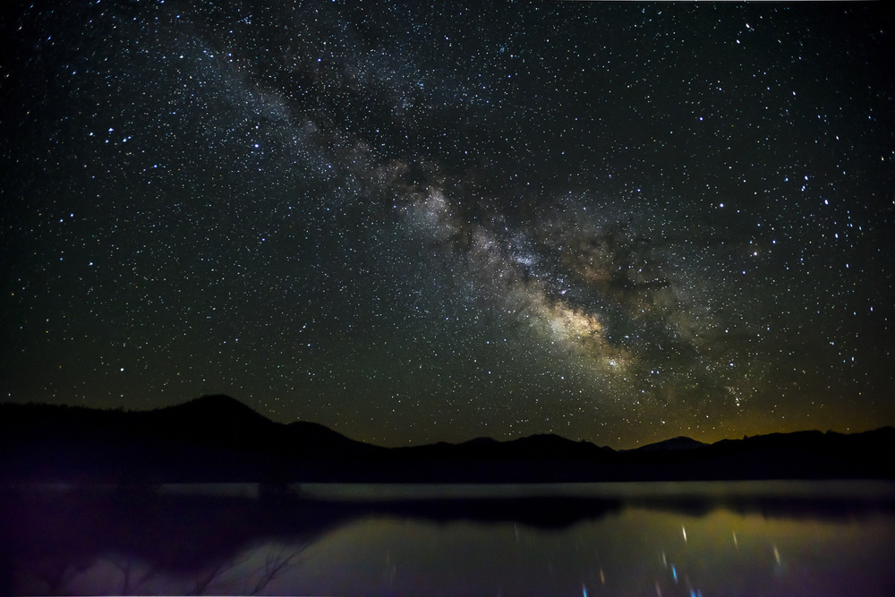 Lassen National Park at Night