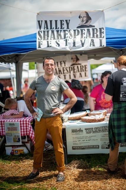 Tom Simonetti, Artistic Director of Valley Shakespeare FestivalatSoupstock