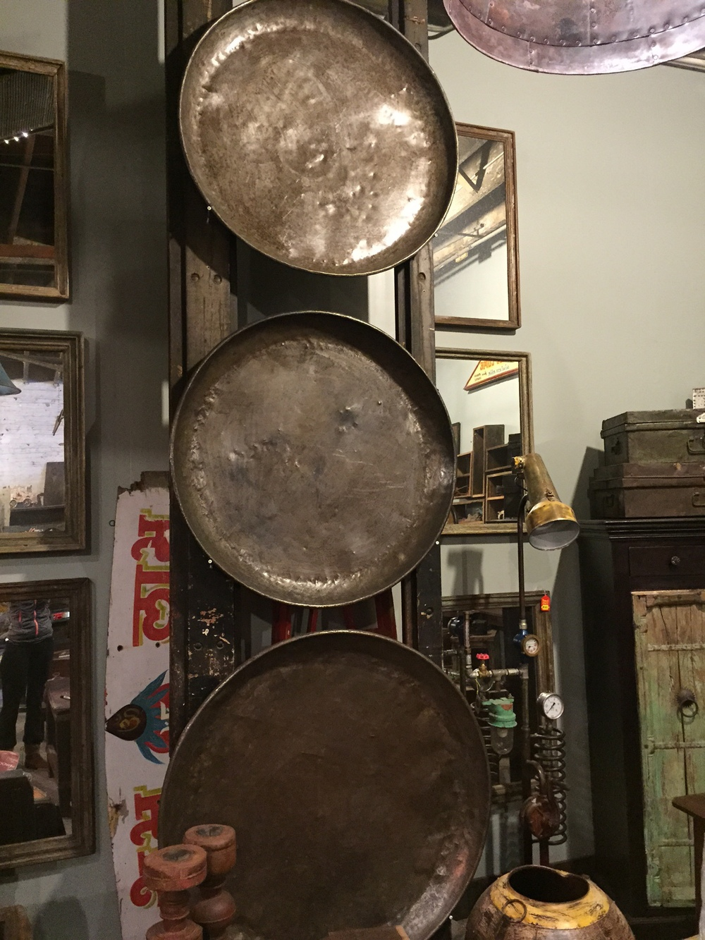 Vintage Cooking Pans from India
