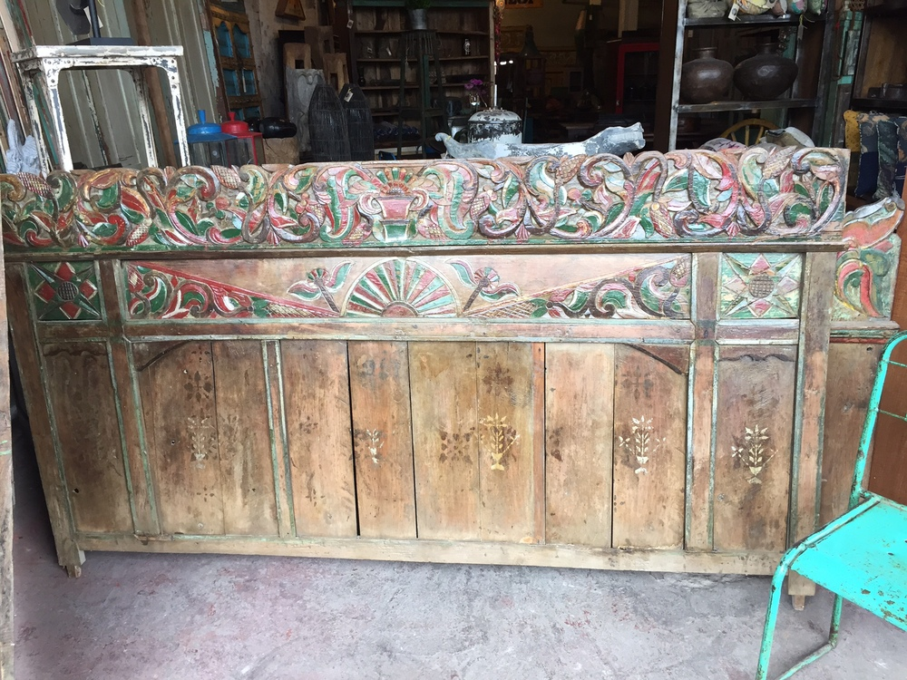 Antique House Panels from Bali