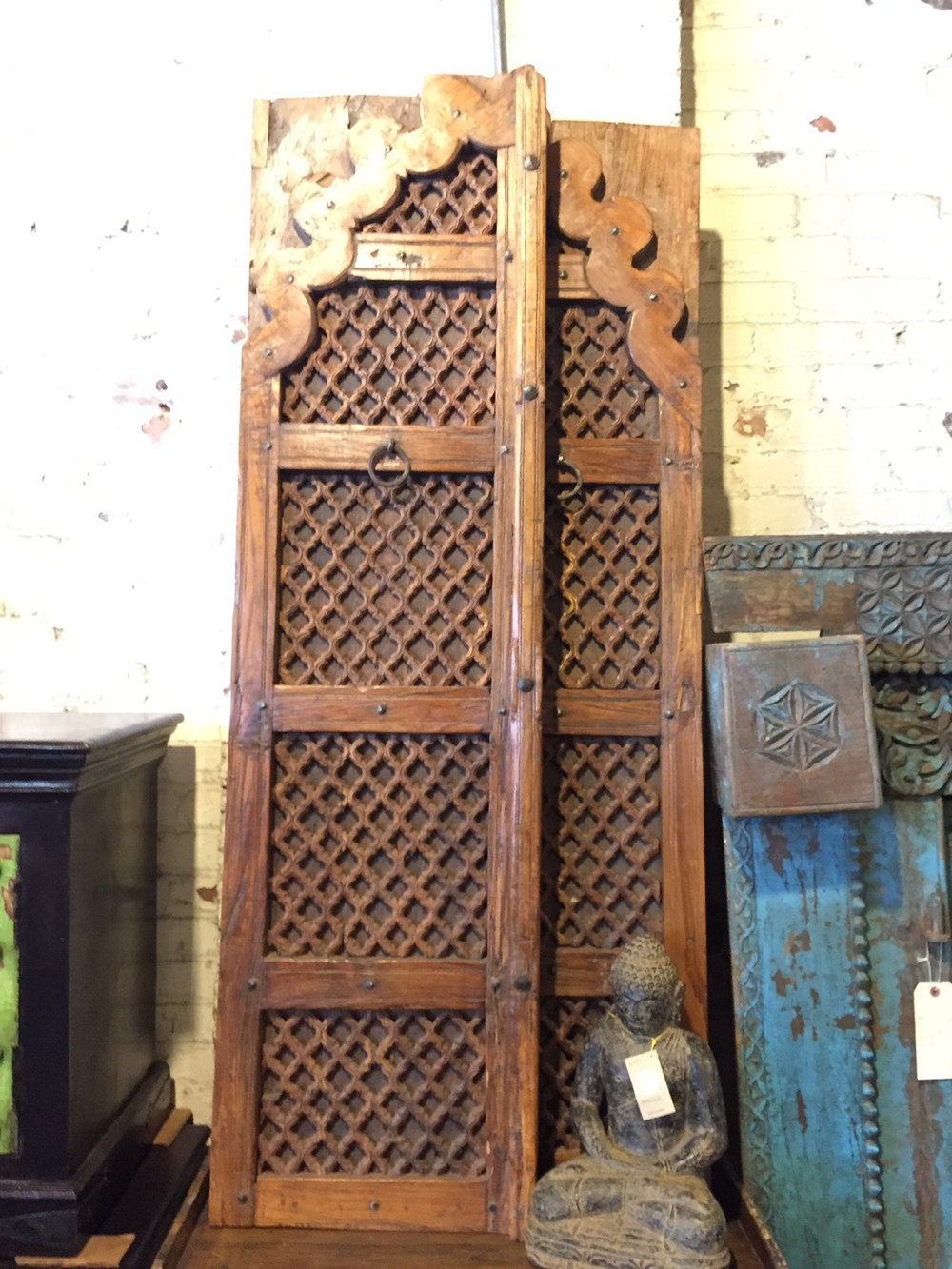 Antique Indian Window Shutters