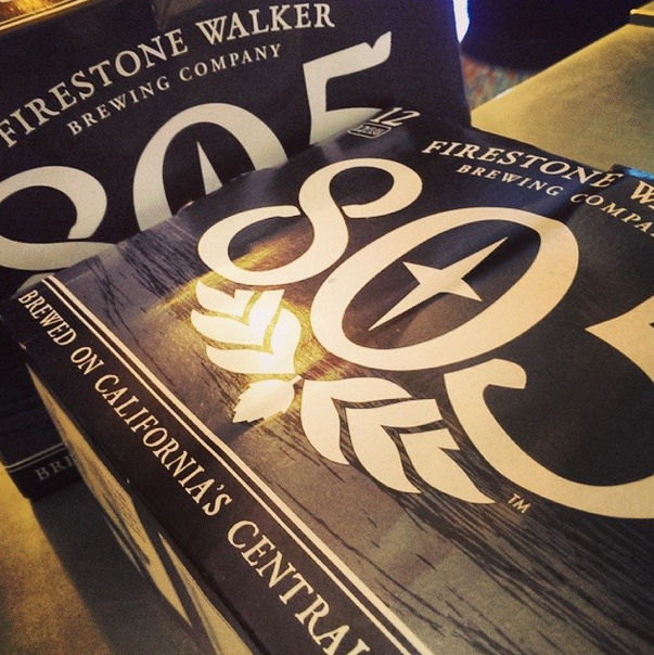 805 Blonde Ale from Firestone Walker