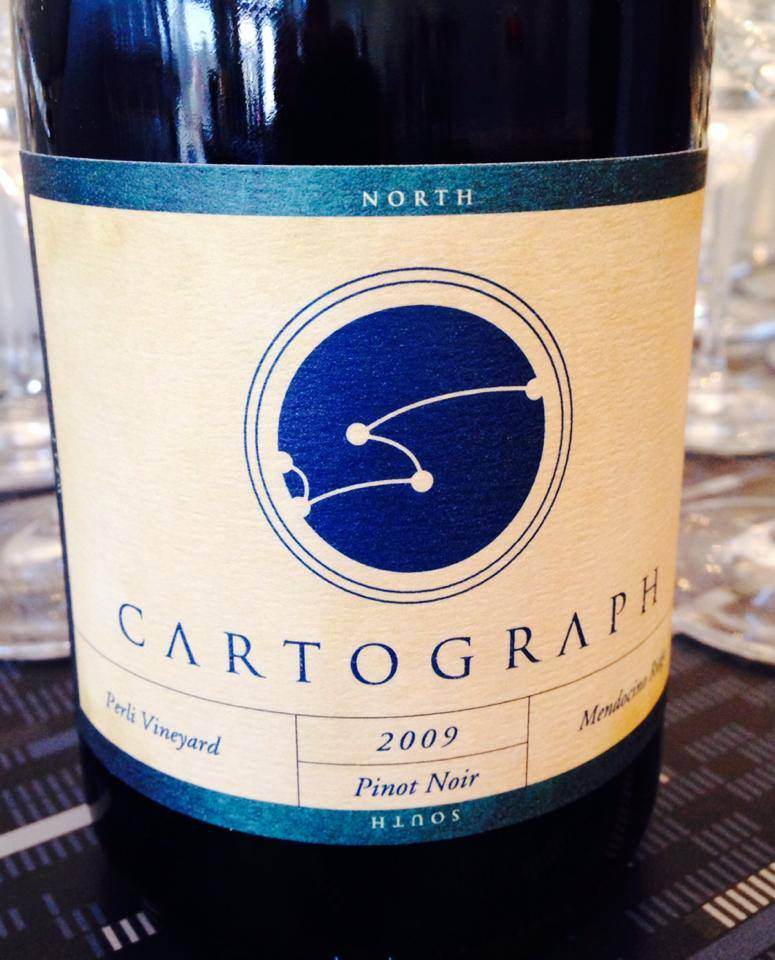 Cartograph Wines Perli Vineyard Pinot Noir via their Facebook Page