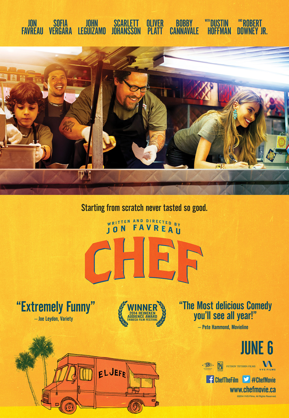 Chef Movie - Cuban Sandwich