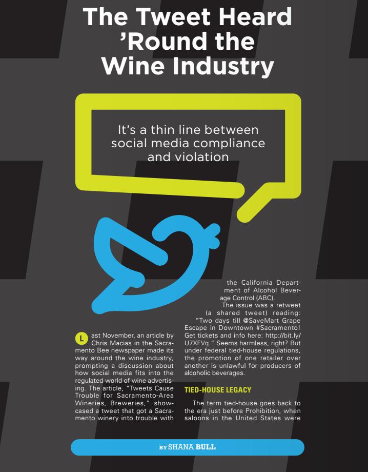 Social Media Wine Laws