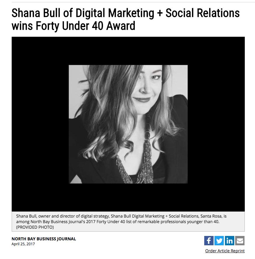 Shana Bull - 40 Under 40