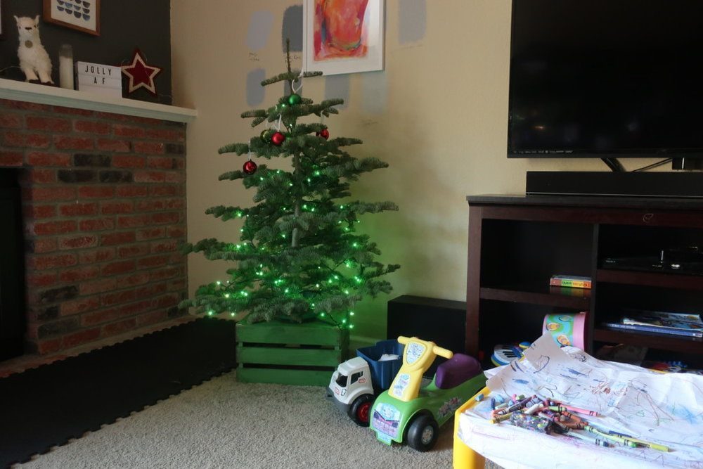 Toddler Proof Christmas Tree.Toddler Proof Your Christmas Word Food In Mouth Blog