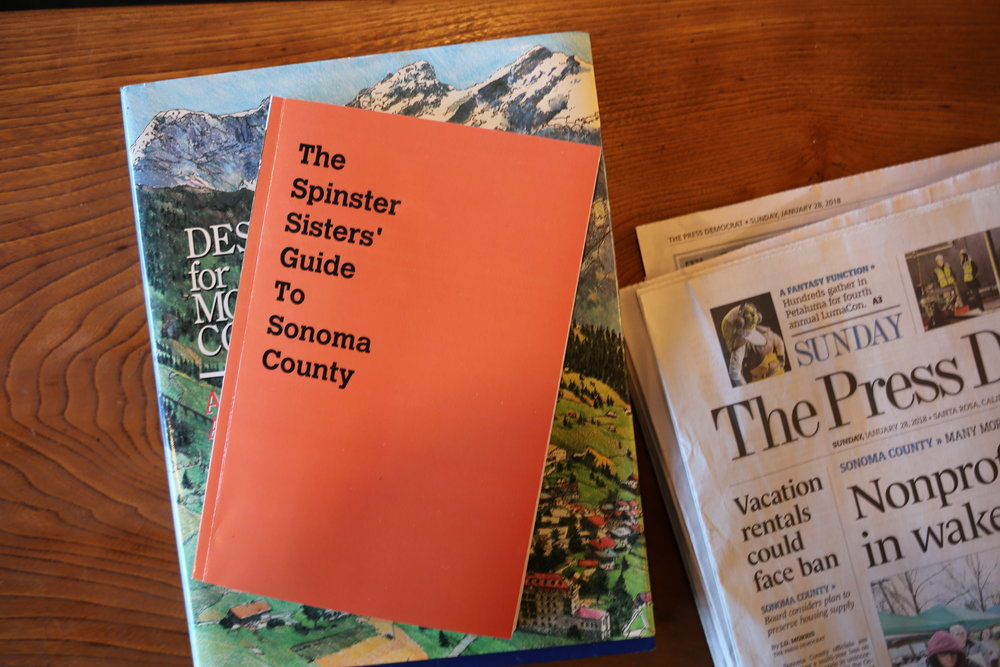 Spinster Sisters Guide to Sonoma County