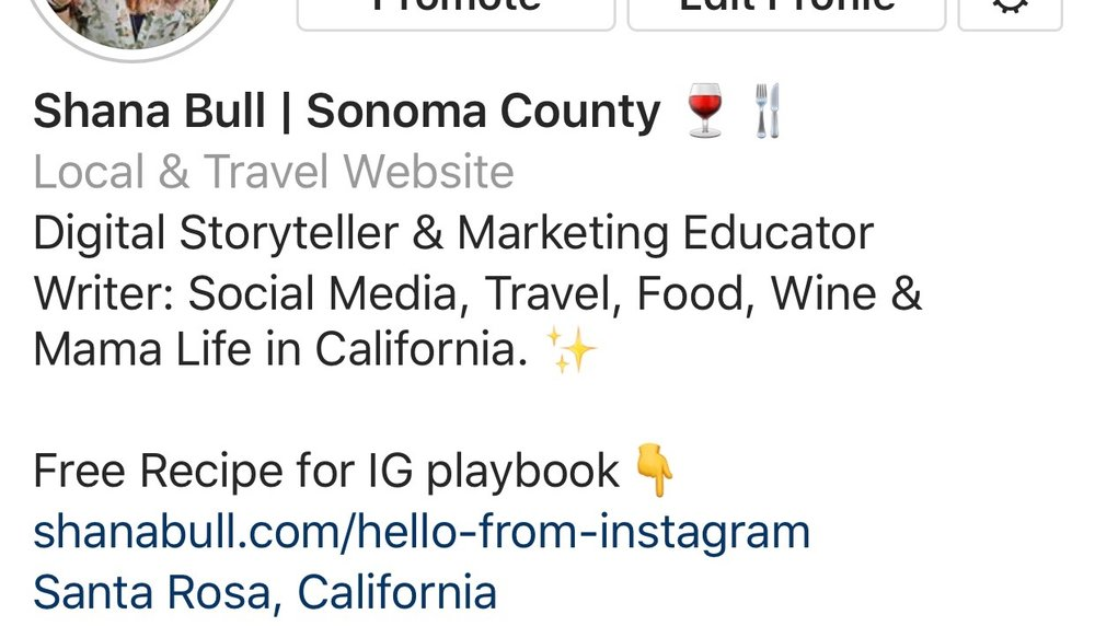 Instagram Bio Marketing
