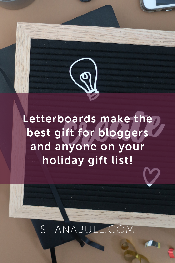 Letterboard for Bloggers