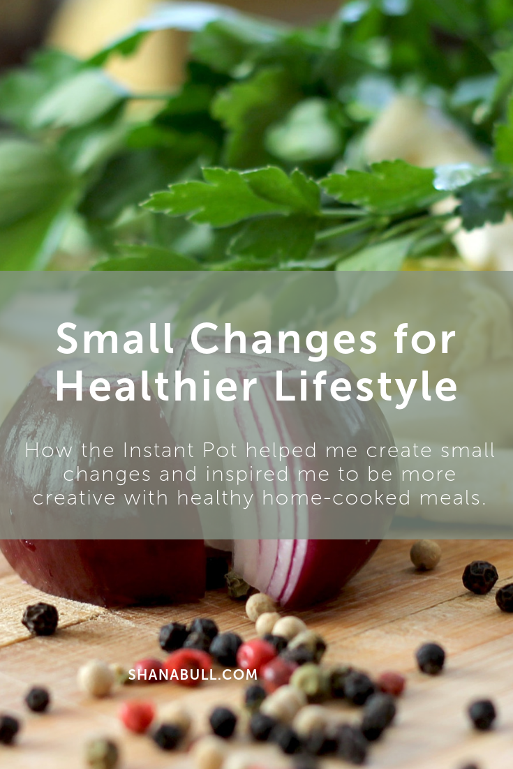 Small Changes for Healthy Lifestyle