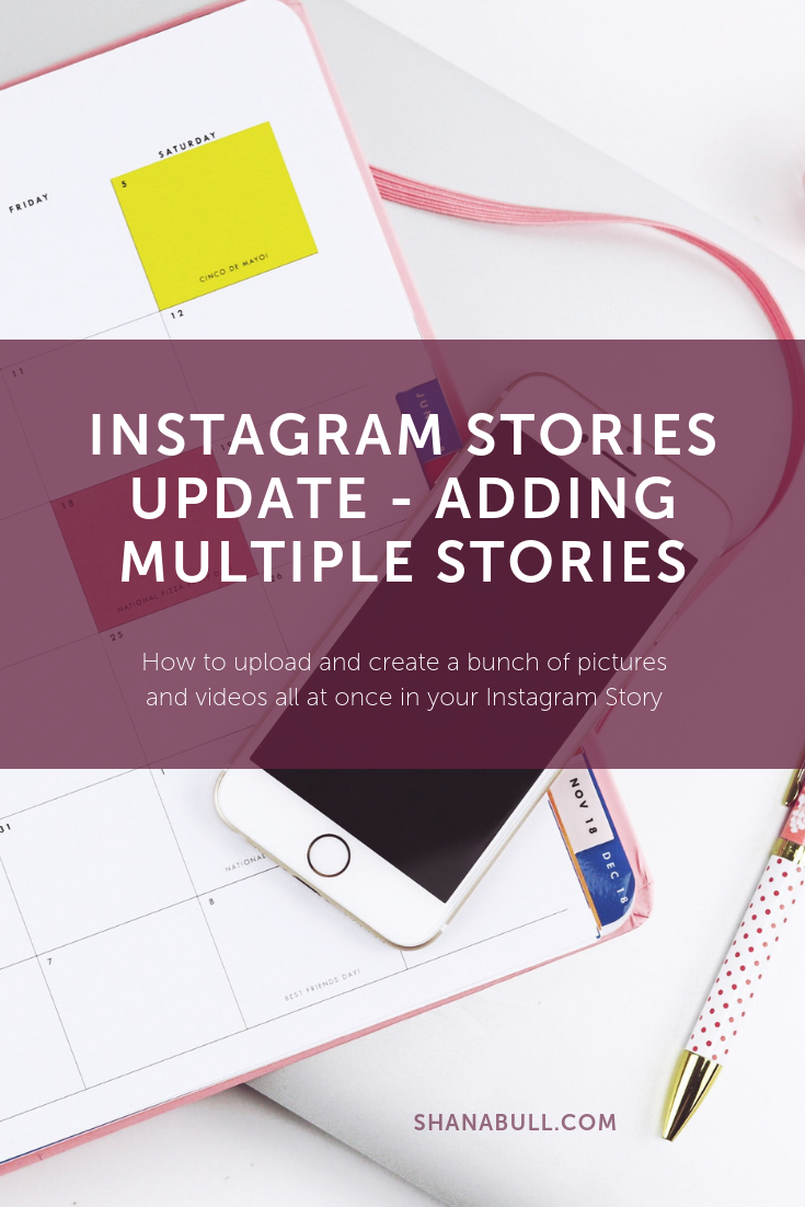 Instagram Stories Update: The Instagram Stories feature just got one of the best updates I have seen so far: they allow you to upload a bunch of pictures and videos all at once.  Making social media marketing easier