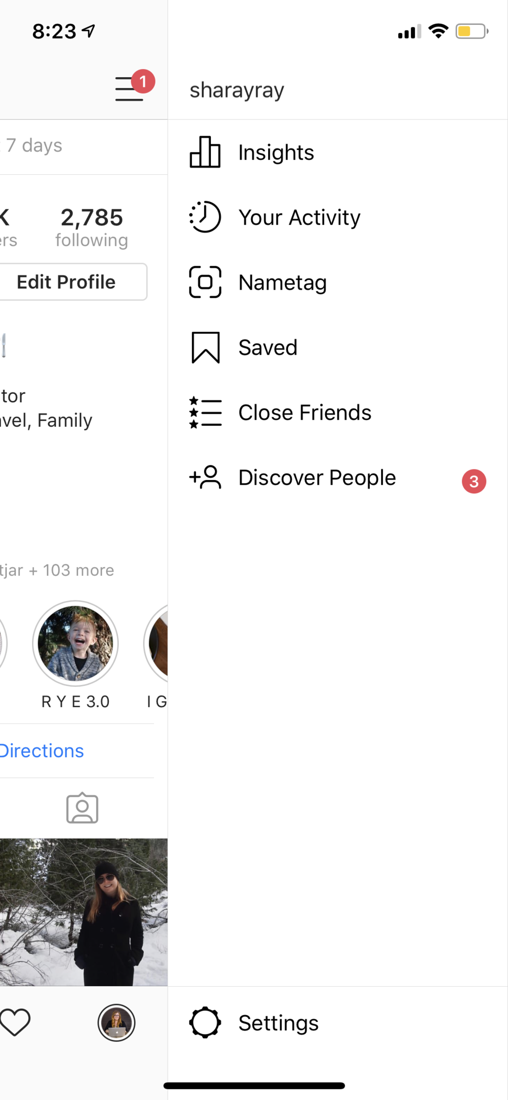 Save Folder Feature on Instagram