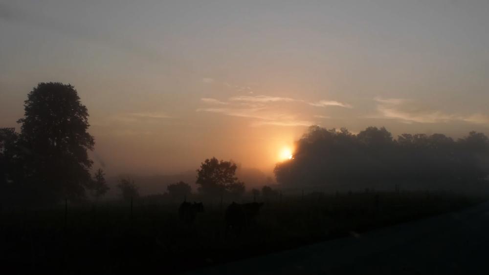 "Sunrise approaching ""Cheyenne Valley"""