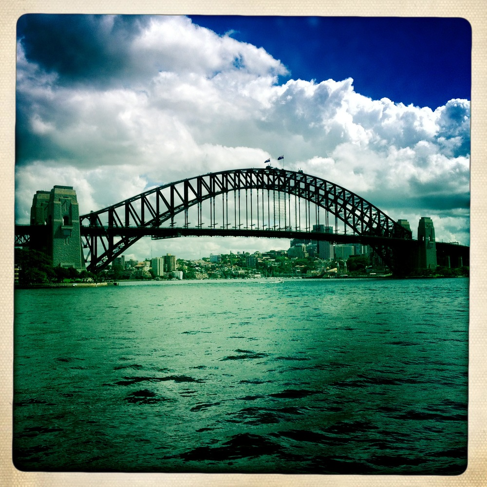 The Sydney Harbor Bridge